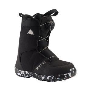 Burton Kids' Grom Boa® Snowboard Boot Sort