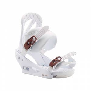 Burton Women's Stiletto Re:Flex Snowboard Binding Hvit