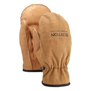 Burton Men's Work Horse Leather Mitten Brun