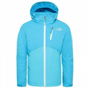 The North Face Youth Snowquest Plus Jacket Blå