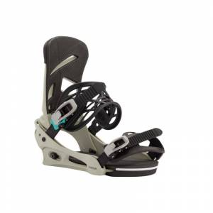 Burton Men's Mission Re:Flex Snowboard Binding Grå