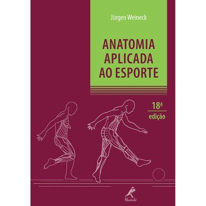 Livro - Anatomia Aplicada ao Esporte - Unissex