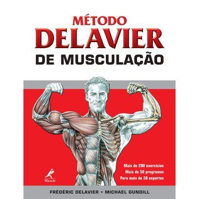 Livro - Mtodo Delavier de Musculao - Unissex