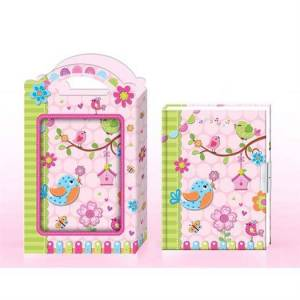 Bino Toys Dagbog m. lås i Gaveæske - Bino Toys