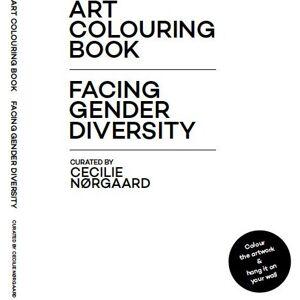 ART Colouring Book - Cecilie Nørgaard - Bog