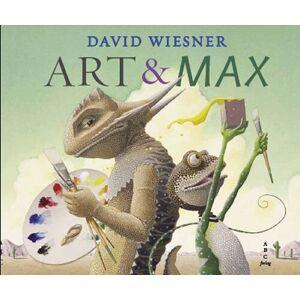 ART & Max - David Wiesner - Bog