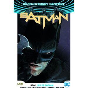 Scott Batman Rebirth - Scott Snyder - Tegneserie