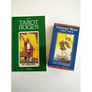 Begyndere Tarot Sæt (dk Bog + Eng. Kort) - Asta Erde - Bog
