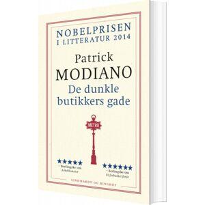 De Dunkle Butikkers Gade - Patrick Modiano - Bog