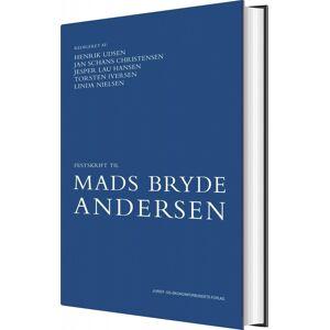 Festskrift Til Mads Bryde Andersen - Torsten Iversen - Bog