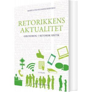 Retorikkens Aktualitet - Stefan Iversen - Bog