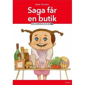 Saga Får En Butik, Læs Lydret 2 - Marie Duedahl - Bog