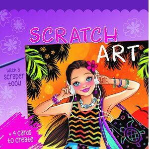ART Scratch Art - Kridse-kradse - Sommerpiger - Lilla