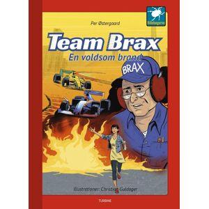 Brax Team Brax - En Voldsom Brand - Per østergaard - Bog