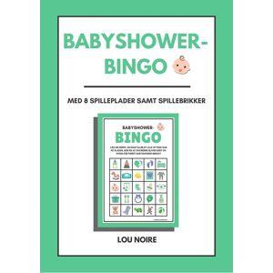 Lou Noire Babyshower-bingo