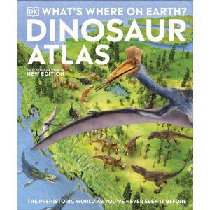 DK What's Where on Earth? Dinosaur Atlas