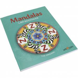Creativ Company Mandalas Malebøger, Lær Bogstaver, 1 Stk.