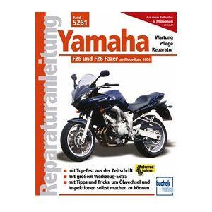 Motorbuch Vol. 5261 Reparationsvejledning YAMAHA FZ6 Fazer, 04-
