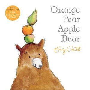 Apple Orange Pear Apple Bear by Emily Gravett
