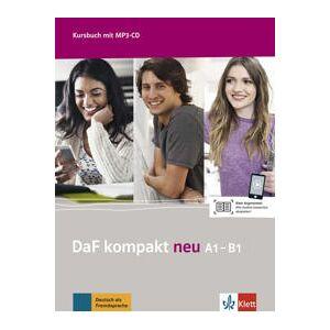 Braun DaF kompakt neu A1-B1. Kursbuch + MP3-CD Nidottu