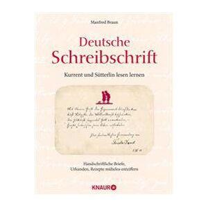 Braun Deutsche Schreibschrift - Kurrent und Stterlin lesen lernen Sidottu