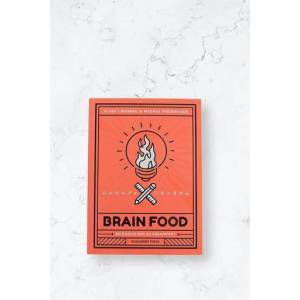 Dokument Press Bok Brain Food: En Daglig Dose Kreativitet Rosa  Male Rosa
