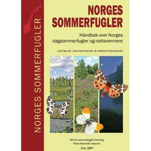 Entomologisk Forening og NHM UiO Norges sommerfugler Håndbok over Norges dagsommerfugler og nattsvermere