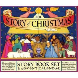Story of Christmas: Story Books & Advent Calendar by Mary Packard