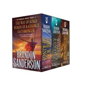 Stormlight Archive MM Boxed Set I, Books 1-3 by Brandon Sanderson