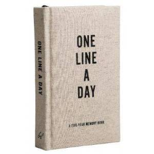 Canvas One Line a Day by Chronicle Books