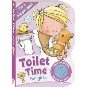 Toilet Time for Girls Sound Book by Hinkler Books