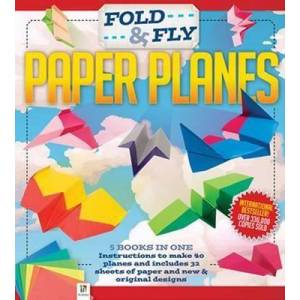 Fold and Fly Paper Planes (binder relaunch) by Hinkler Books