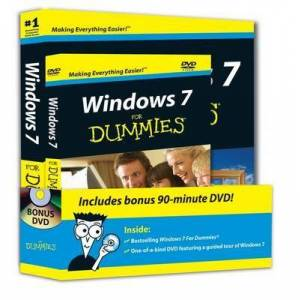 Windows 7 For Dummies, Book + DVD Bundle by Andy Rathbone