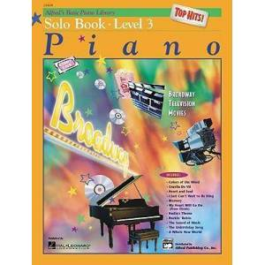 Alfred's Basic Piano Library Top Hits! Solo Book, Bk by E L Lancaster