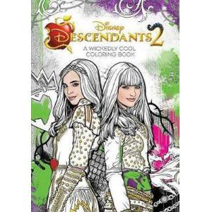 Descendants 2 a Wickedly Cool Coloring Book by Disney Book Group