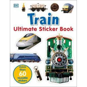 Train Ultimate Sticker Book by DK