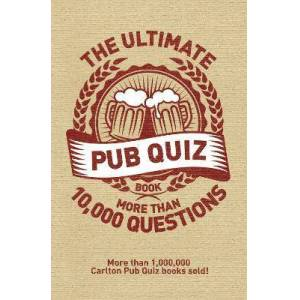 The Ultimate Pub Quiz Book by Roy Preston