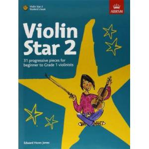 Violin Star 2, Student's book, with CD by Edward Huws Jones