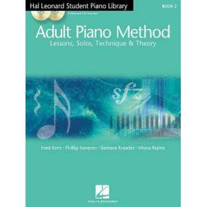 Hal Leonard Student Piano Library Adult Piano Method - US Edition (Book/Online Audio) by Barbara Kreader