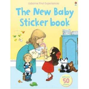 Usborne First Experiences The New Baby Sticker Book by Anne Civardi