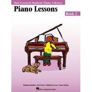 Piano Lessons Book 2 by Fred Kern