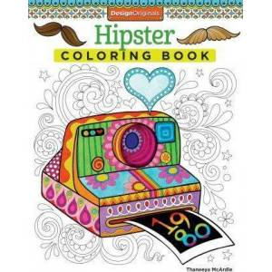 Hipster Coloring Book by Thaneeya Mcardle