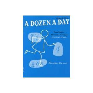 A Dozen a Day Book 1 by Edna Mae Burnam