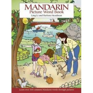 Mandarin Picture Word Book by Ling Li