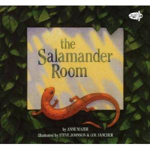 The Salamander Room: Dragonfly Books Edition by Anne Mazer