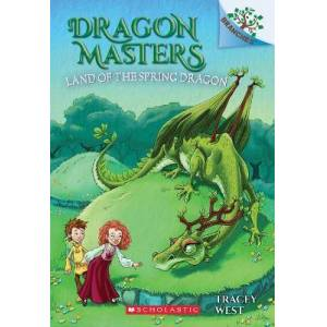 The Land of the Spring Dragon: A Branches Book (Dragon by Tracey West
