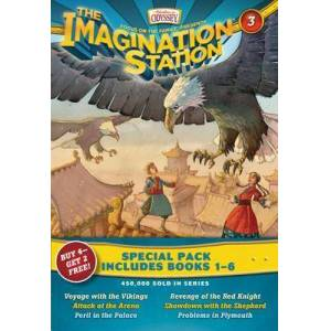 Imagination Station Boxed Set: Books 1-6 by Marianne Hering