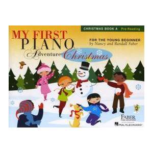My First Piano Adventure - Christmas (Book A - Pre-Reading) by Nancy Faber