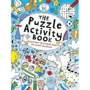 The Puzzle Activity Book by Buster Books