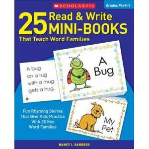 25 Read & Write Mini-Books by Nancy Sanders